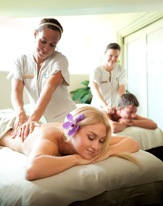 An Unforgettable Massage for Two